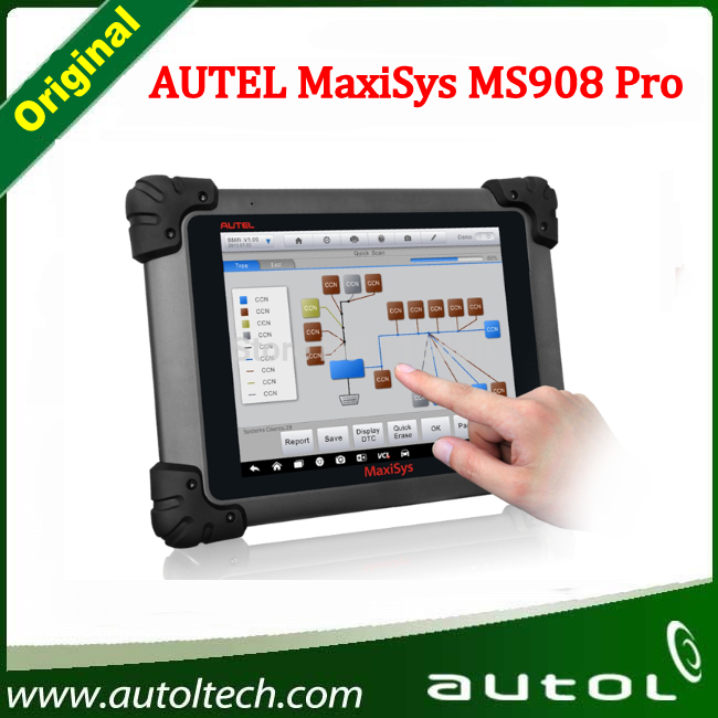 2016 Best Newly autel maxidas ms908 autel diagnosis tool diagnostic multi car scanner With Automatic Wi-Fi updates