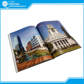Colorful soft cover book printing with lamination outside cover