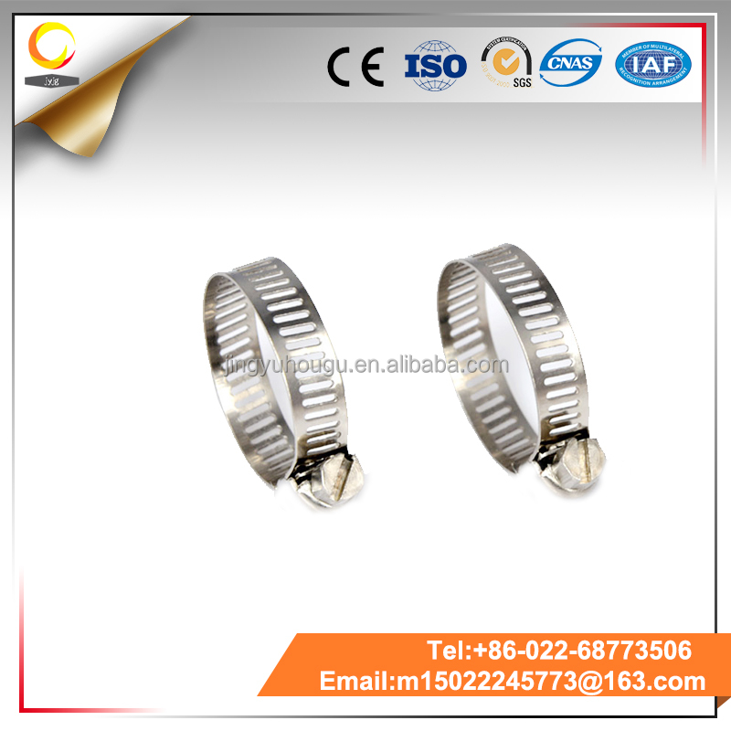 Oem Low Cost American Type Fastener High Torque Pipe Clamp Hose Clamp