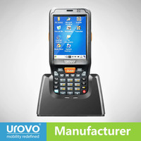 win CE Mobile scanner,2D barcode scanner with wifi,bluetooth. Urovo i6100s-CE Data terminal