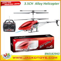 Flash light 3.5CH Alloy RC Helicopter Models Toys With Gyro