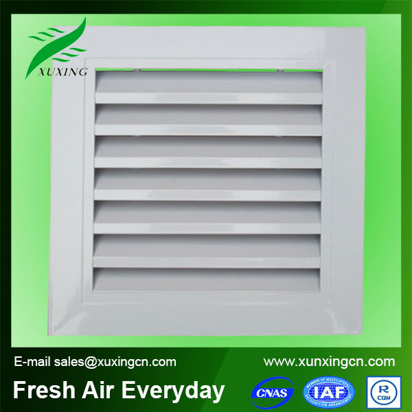 high quality aliminium fixed louver ventilation louvres