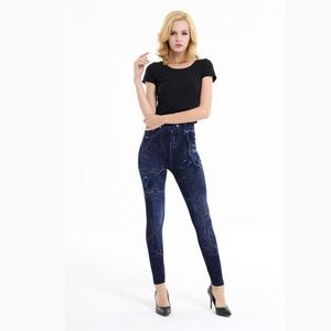 Hot Jeans for Women Denim Pants with Pocket Pull Cashmere Body Cowboy Slim Leggings Women