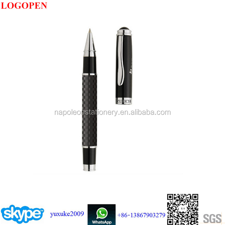 hot-selling Twist Promotion Logo Custom brand logo carbon fiber pen