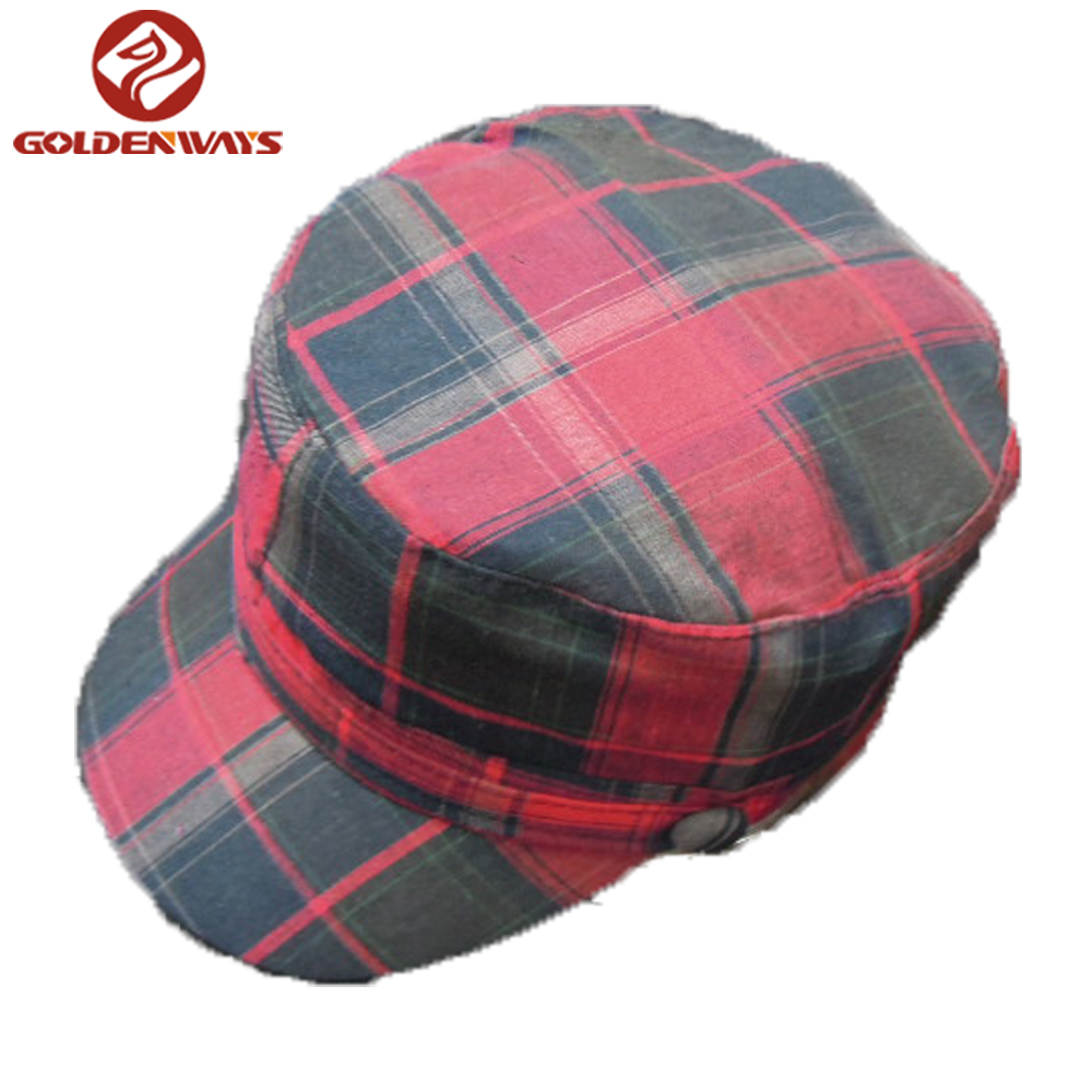 Colorful fashion cotton military academy hat
