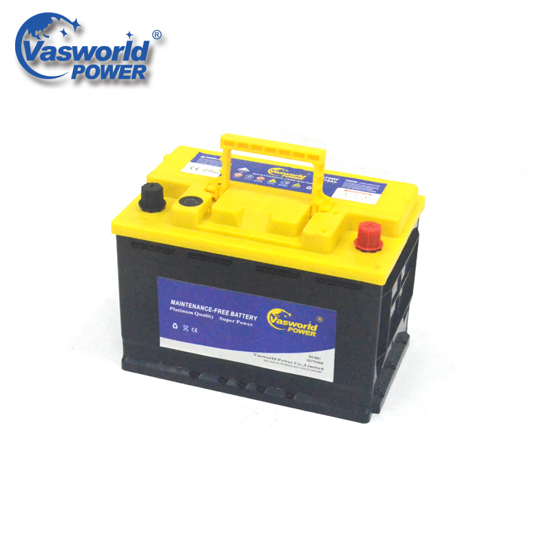 Quality Chinese Products 12v75Ah Korean MF Car Battery