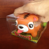 hot selling free samples Full Color Printed PVC boxes for dog toy