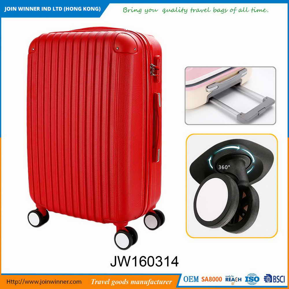 Modern and elegant in fashion Stock Luggage With Free Samples