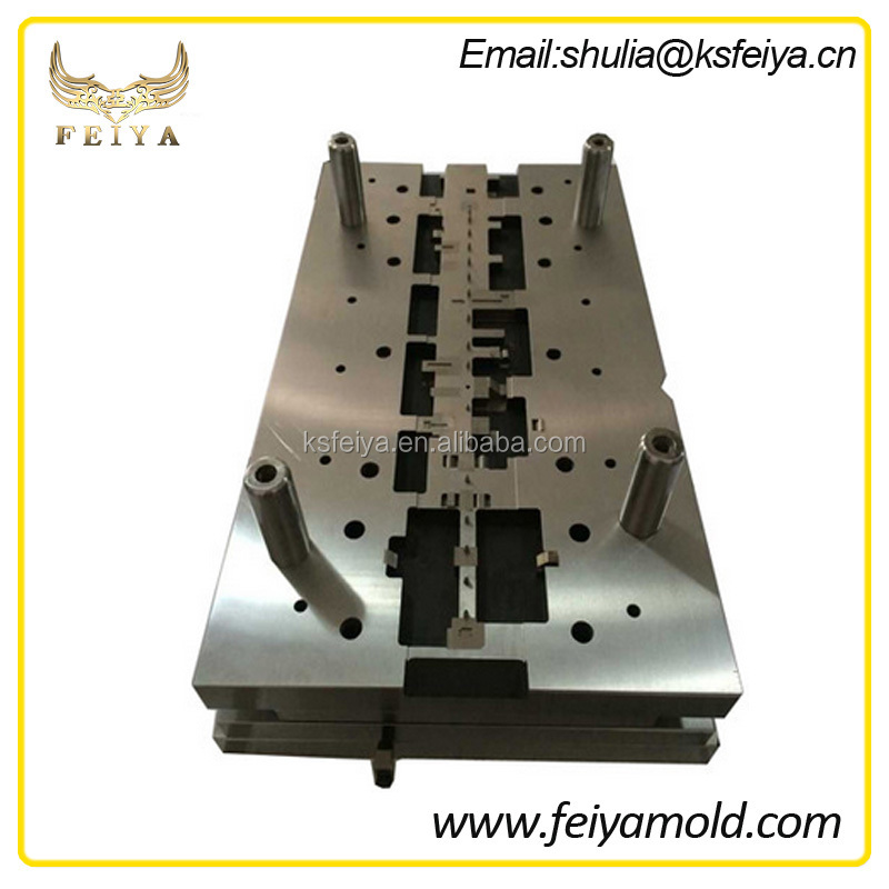 Progressive mobile components stamping die moulding