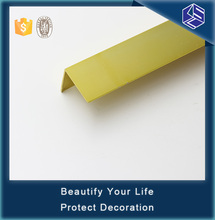 Eco-friendly abrasive stainless steel vinyl floor corner guard