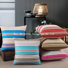 Wholesale Chinese Printed strip Chair Seat Cushion cover pillow cover