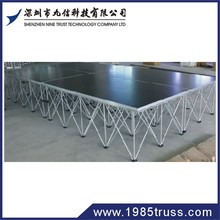 Plywood platform aluminum easy stage,portable drum riser stage