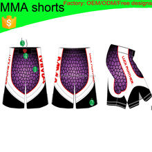 (Factory:ODM/OEM) wholesale fabric mma fight shorts 002