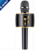 Portable Wireless Karaoke Machine Microphone with Speaker and FM for Mothers Day Gift Idea