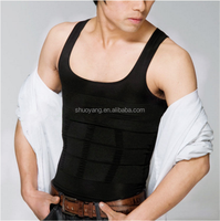 shuoyang High Quality Tank Vest Tight Underwear Men Slimming Body Shaper SY-M001