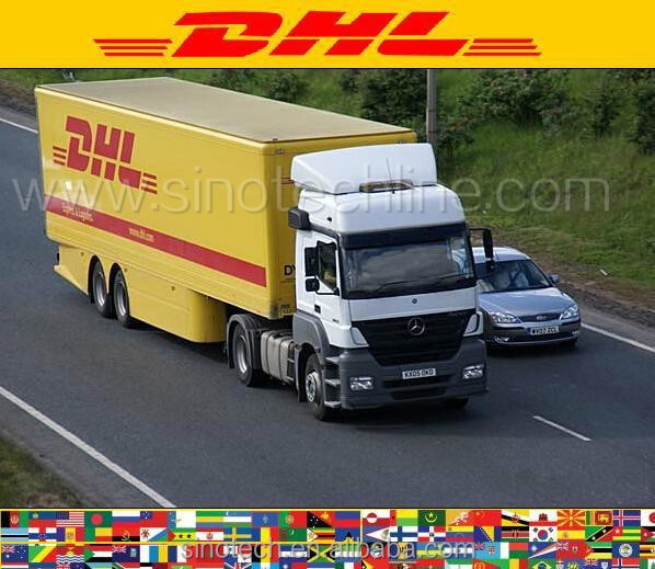 DHL express courier door to door service China to Hungary