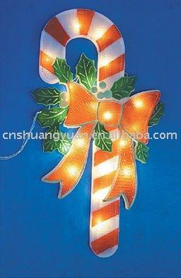 Christmas crutch light/Indoor&outdoor decoration