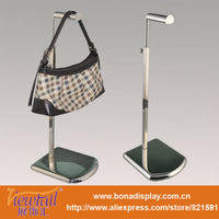 bag hanging rack,metal displaying bag stand