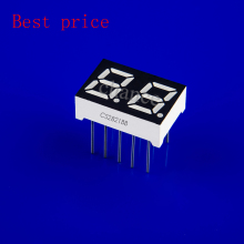 Produce good quality 0.28 inch 2 digits 7 segment led display blue common cathode