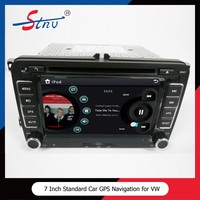 7 Inch VW Bora Car GPS Navigation With Car DVD Player