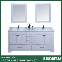 luxdream solid oak wood bathroom cabinet