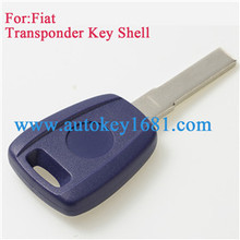 Transponder Car Key Shell For Fiat Key Case Blank Cover