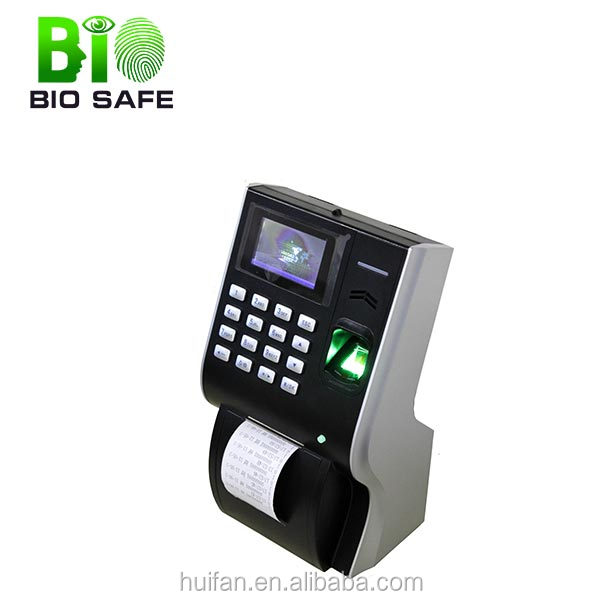 Bio-metric Check In&Out Printing Receipt Fingerprint Scanner Time Attendance(HF-P10)