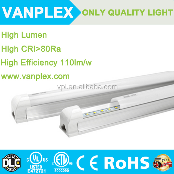 30w aluminum housing t5 led tube light 3150-3300lm for US/Canada project
