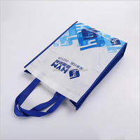 Environmental cheap customized image reusable foldable printed pp shopping non-woven bag price