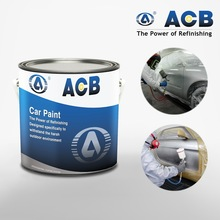 ACB paint on car auto base paint 1k base coating