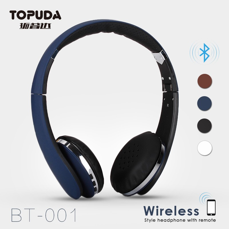 New arrival 2016 ear piece over ear bluetooth tv headphones reviews