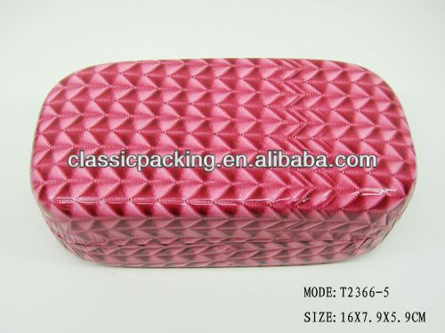 2013 new style handmade reading glasses case, glasses case with belt clip,eyeglass storage case
