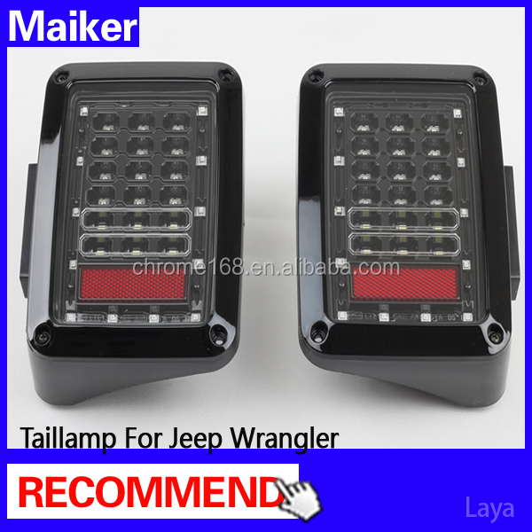 auto accessories for jeep wrangler tail light for jeep wrangler led lights from maiker