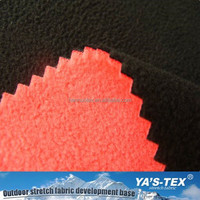 Free Sample Available Solid Color Polar Fleece Bonded Polar Fleece Fabric/ Anti-pilling Polar Fleece Laminted Fabric