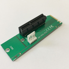 M2 pcie M.2 NGFF SSD Male to PCI-e Express 4X Female m2 to pci-e Converter Adapter Card