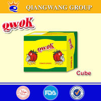 10G/CUBE*60*12 HALAL VEGETABLE FISH/CREVETTE COOING CUBE SEASONING CUBE BOUILLON SEASONING CUBECUBE CUBE WENDY WEN