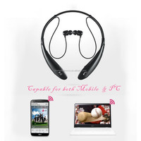 Good quality fashion aviation stereo pc mobile bluetooth headset