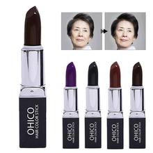 Dark and Brown hair Cosmetic Temporary Cover Grey Hair make Up color Makeup Hair Color stick