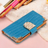 New arrival wholesale price 2014 fashion mobile rhinestone phone case for iphone 5/5S