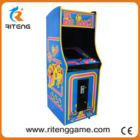 High quality Ms PAC MAN arcade with 60 in 1 video arcade for sale