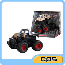 cheap kids friction off road car 4WD friction toys car