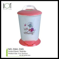 Plastic Tote Waste bins with Dividers