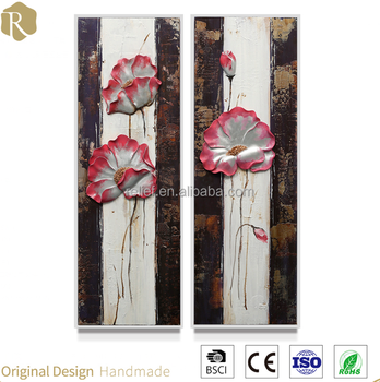 Hot and pop art flower style of wall art &3D flower oil painting Y39053