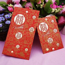 Custom innovative wedding red packet supplier