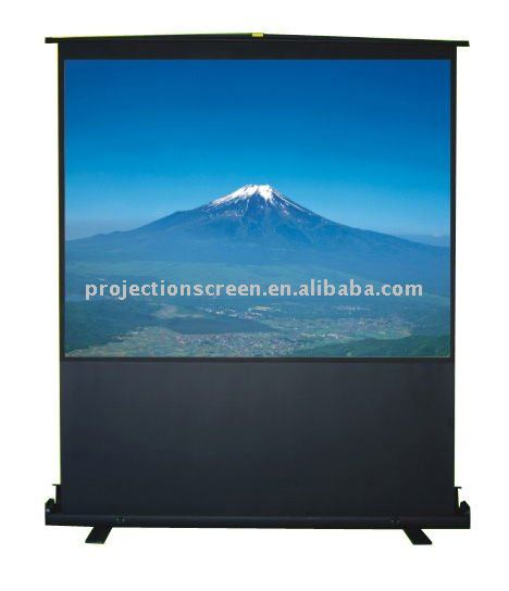 business equipment Portable floor up projector screen for sale