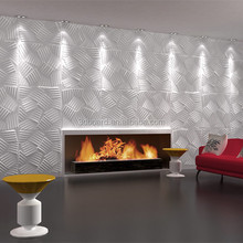 embossed mdf wave wall paneling decorative pattern 3d wall panels