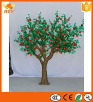 Decorative Led Light Artificial Fruit Tree With Best Raw Material