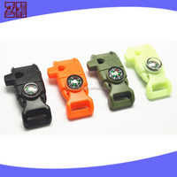 colored plastic side release buckle,adjustable side release buckle,paracord bracelet with fire starter