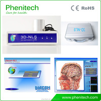 2016 hot 3d nls quantum health test machine with English and Spanish