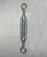 6301-Galvanized Carbon Steel Standard Din 1480 Turnbuckle
